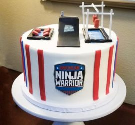 Ninja Warrior birthday party gym